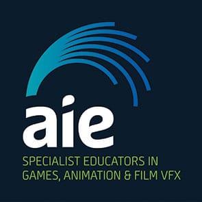 Academy of Interactive Entertainment   Logo